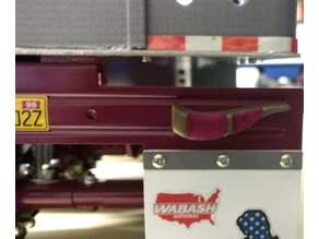 Tuning Rearlights in buffalo horn design forTamiya-Tractor-Trucks 1:14; Tuningrueckleuchten in Bueffelhorndesign fuer Tamiya-Trucks