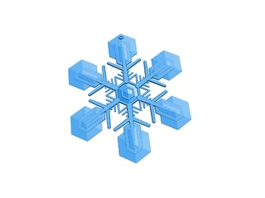 snowflake that grows
