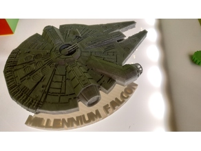 Support base for Millennium Falcon