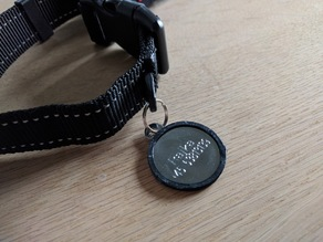 Soft edge for dogtag