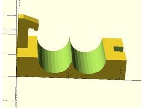 Coax Coil Clip