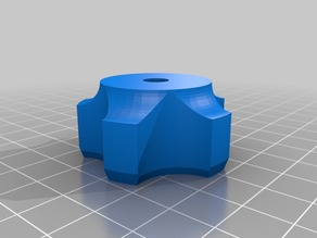 My Customized Parameterized Star Knob for tool