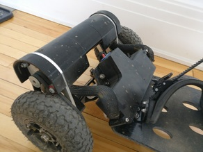 Electric Mountainboard - Enclosure for Enertion FOCBOX / Trampa deck.