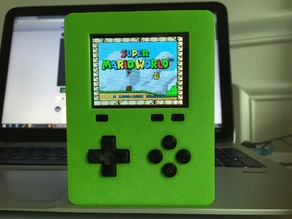 Pirakeet V2 - Raspberry Pi Zero Handheld Retro Game Console