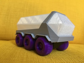 Mars Crystal Rover