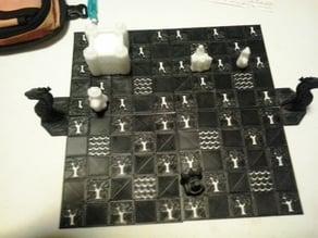 Game Of Thrones Cyvasse board remix