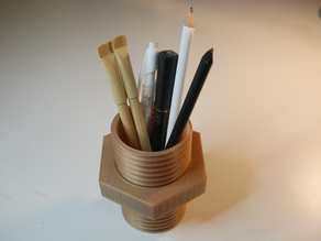 Pencil holder screw