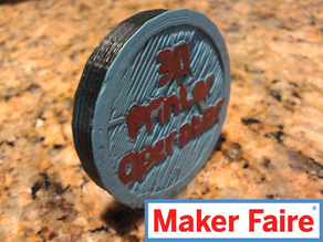 3D Printer Op. Badge