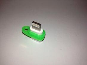 Micro USB to Lightning adapter pendant