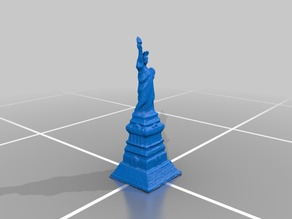 20th Century Statue of Liberty Souvenir Model