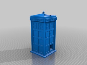 Tardis Dice Tower