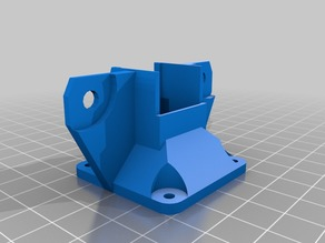 Lulzbot Taz 5 heatsink 40mm fan mount