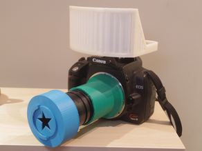 Diffuser for Canon build-in pop-up flash