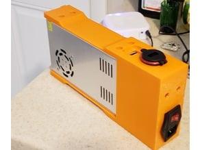 Power supply mount for the K280 delta printer
