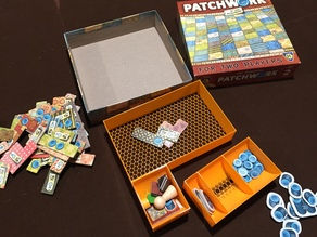 Patchwork Board Game Insert Lightweight