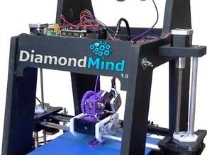 DiamondMind v.II CNC'd Parts
