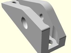 Alternate Spool Arm Mount for TAZ 3D Printer