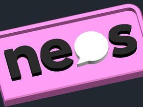 NEOS Österreich - Logo Keychain