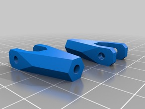 Sculptr Delta Extruder arm Endpieces for M3/M4 threaded rod