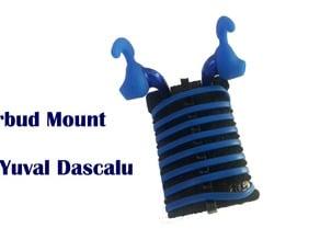Earbud Mount Mount by Yuval Dascalu