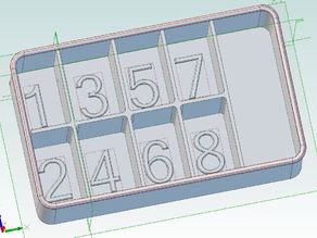 Part tray for electronics disassembly
