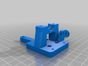 Hypercube E3D mount with BLtouch