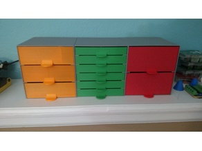 Part Cabinet - different drawer options
