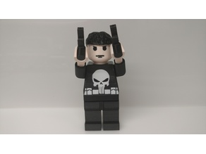 Giant Lego Punisher