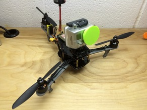 Mini tricopter arms and tail motor tilt