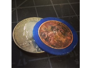 "Penny to Quarter ""adapter"""