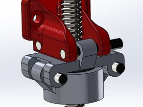 A solution to reduce the wobble of the Z-leadscrew for the K8200 printer