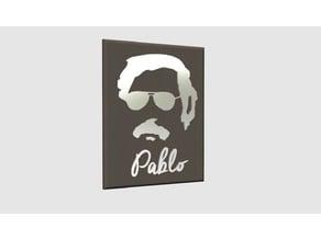Pablo Escobar Face Painting