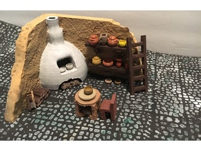 Pottery Kiln with Accessories