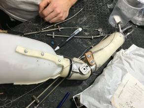 Mano Libre - The Rapid Hybrid Prosthetic Forearm