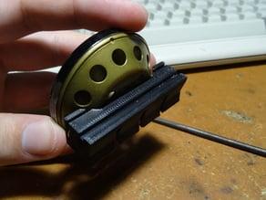 Зажим-крепёж для термометра ТВ-45 (clamp mount for TB-45 cabin air thermometer)