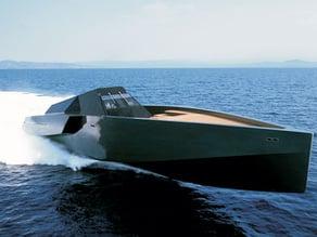 'Wallypower 118' superyacht. 1:200 Scale
