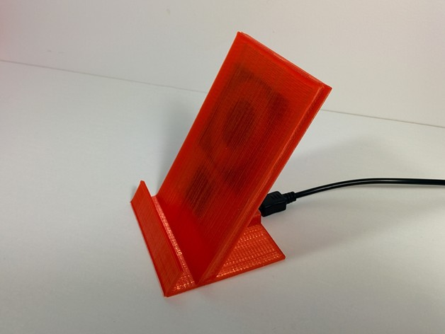 3d Printed Universal Phone Cradle Integrated Wireless