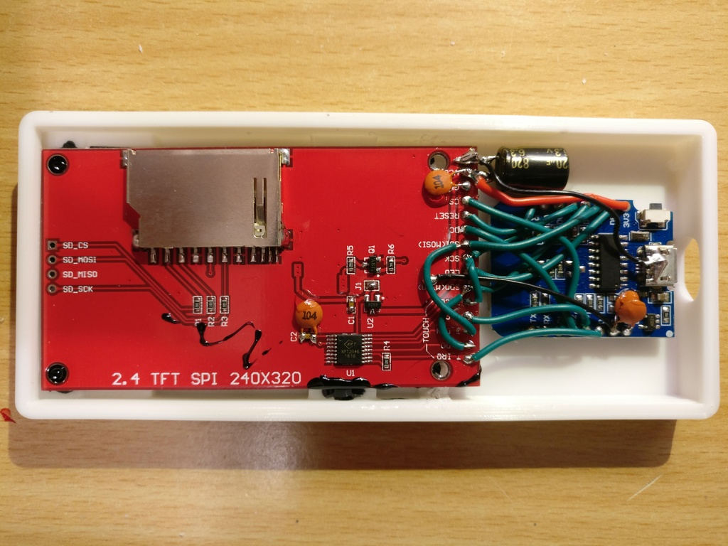 ESP8266 Weather Station with 2 4