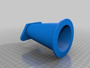 Intake Restrictor Diverging Cones for Flow Bench