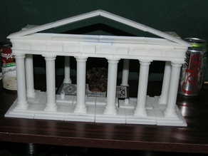Parametric Doric Temple Building Set
