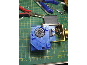 Robo Gripper Single Servo Design 90° turned