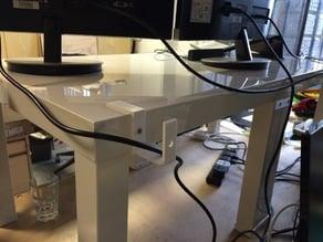 Ikea Lack Table cable organiser