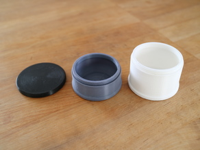 Large stackable pillboxes
