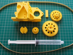 Universal Paste Extruder for 3D printers