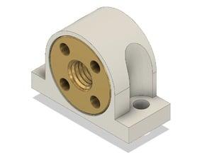 Leadscrew Nut Support Block