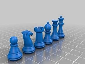 Chess Set as STL