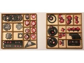 Claustrophobia 1643 - Token tray - Lasercut