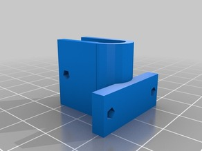 Parametric Z and X axis endstops