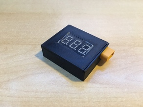 XT30 voltage checker miniature box