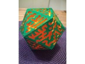 Maze on a Pumpkin